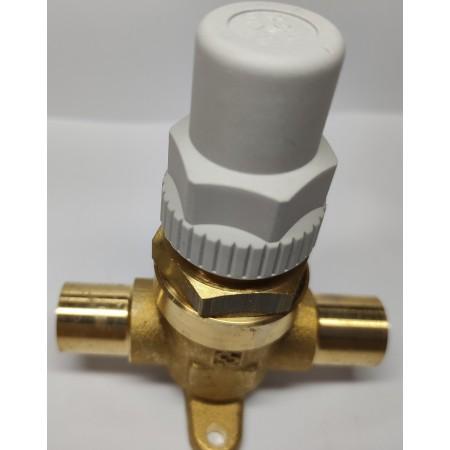 Capped valve